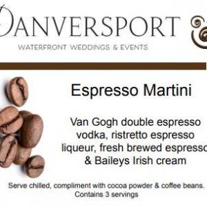 Espresso Martini description