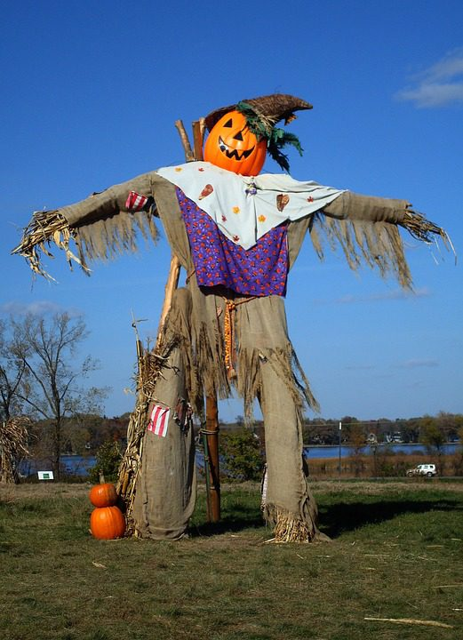 large scarecrow