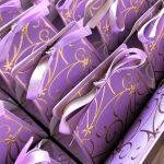 purple party favors