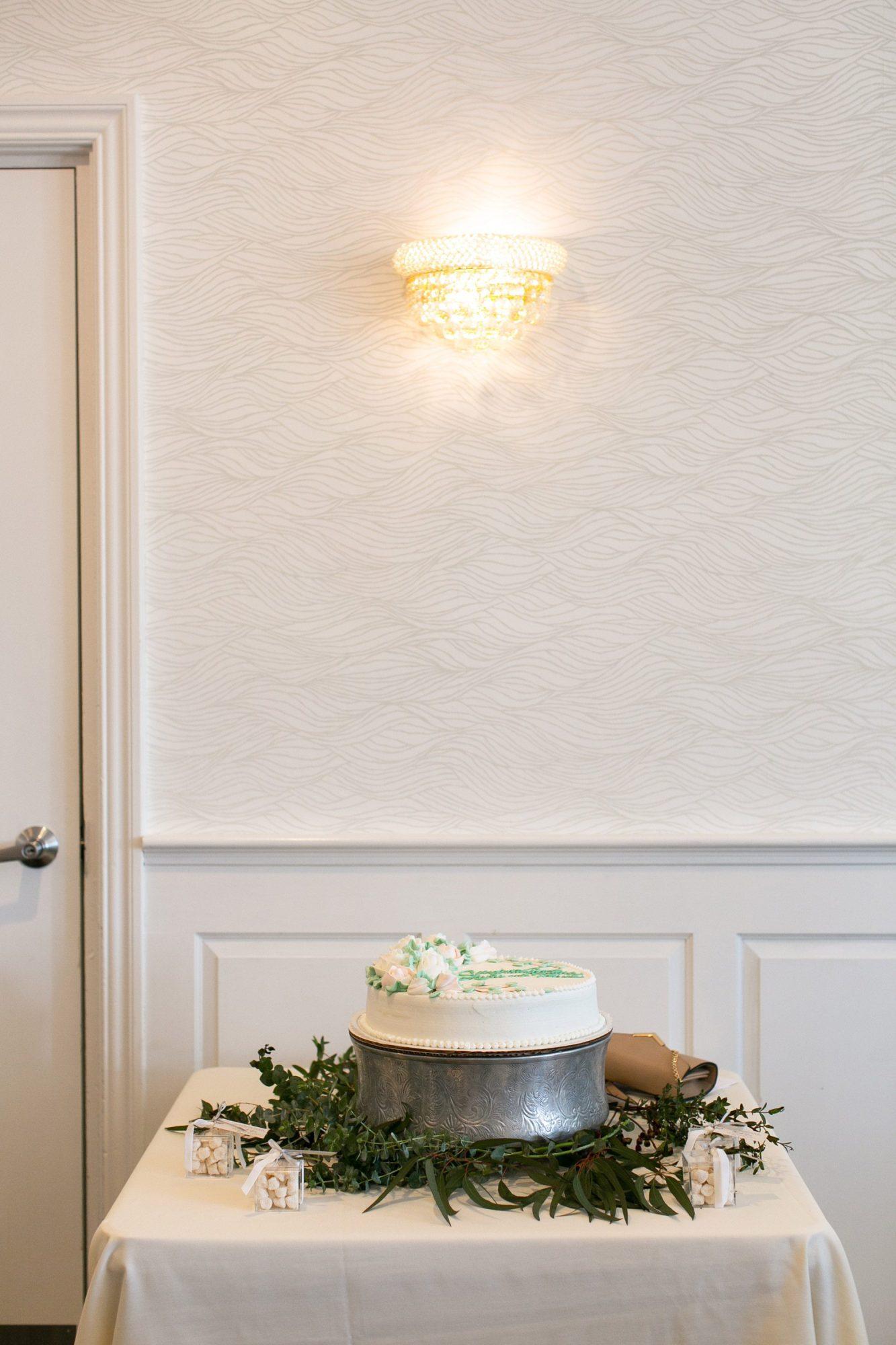 Captain's Quarters at Danversport decorated for a bridal shower