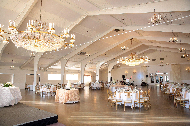 Danversport Ballroom Set Up for Wedding
