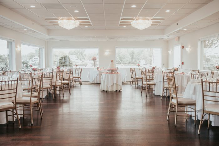 Danversport Wedding Venue Floor Layout in the Lighthouse Point Venue