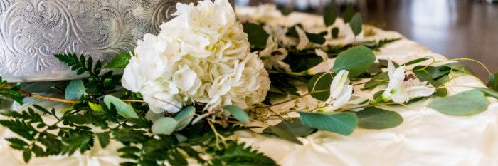 Flower Arrangement for wedding at Danversport