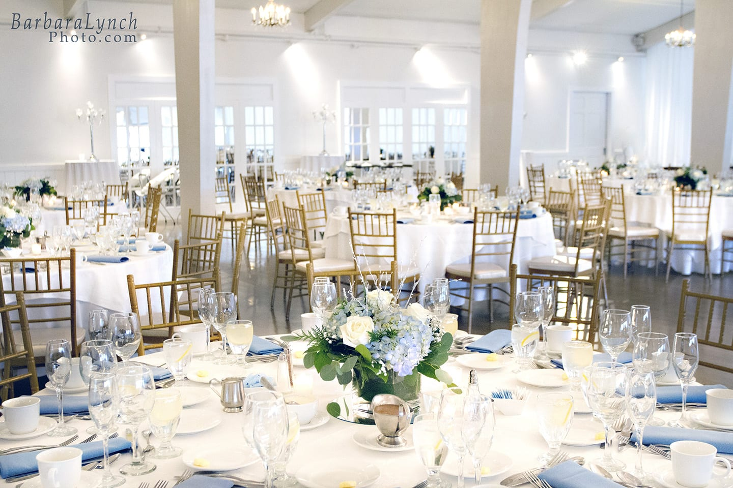 Table Settings for Weddng Reception
