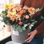 autumn themed bridal flowers