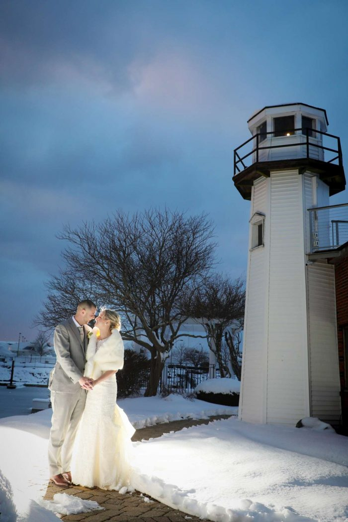 Amanda & Will by the Lighthouse
