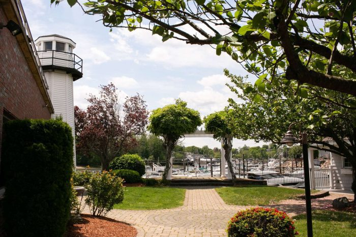 The Pergola at Danversport in Danvers, Massachusetts